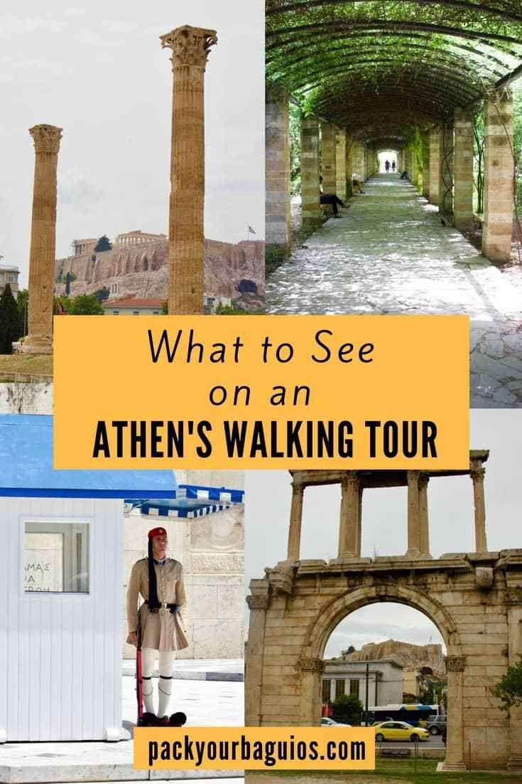 What To See On An Athen S Walking Tour Athens Walking Tour