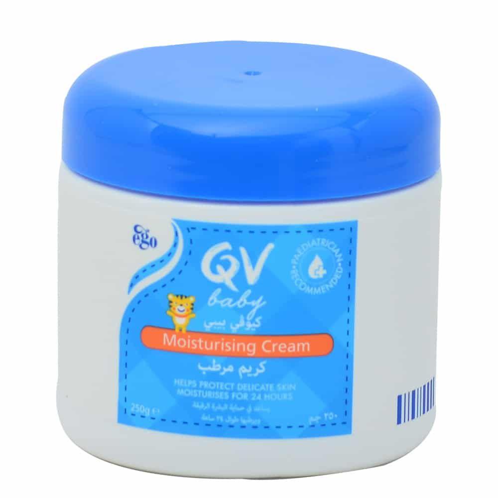 كيو في بيبي كريم مرطب للبشرة الجافة للاطفال Moisturizer Cream Moisturizer Vaseline Bottle