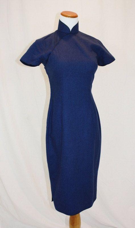 Blaues kleid ein jahr