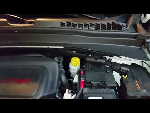 782 2015 2018 Jeep Renegade Suv How To Check Power Steering Fluid Level Multiair 2 4l Engine Youtube Jeep Renegade Jeep Suv