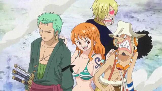 Roronoa Zoro Nami Sanji Usopp One Piece Anime One Piece Nami Anime