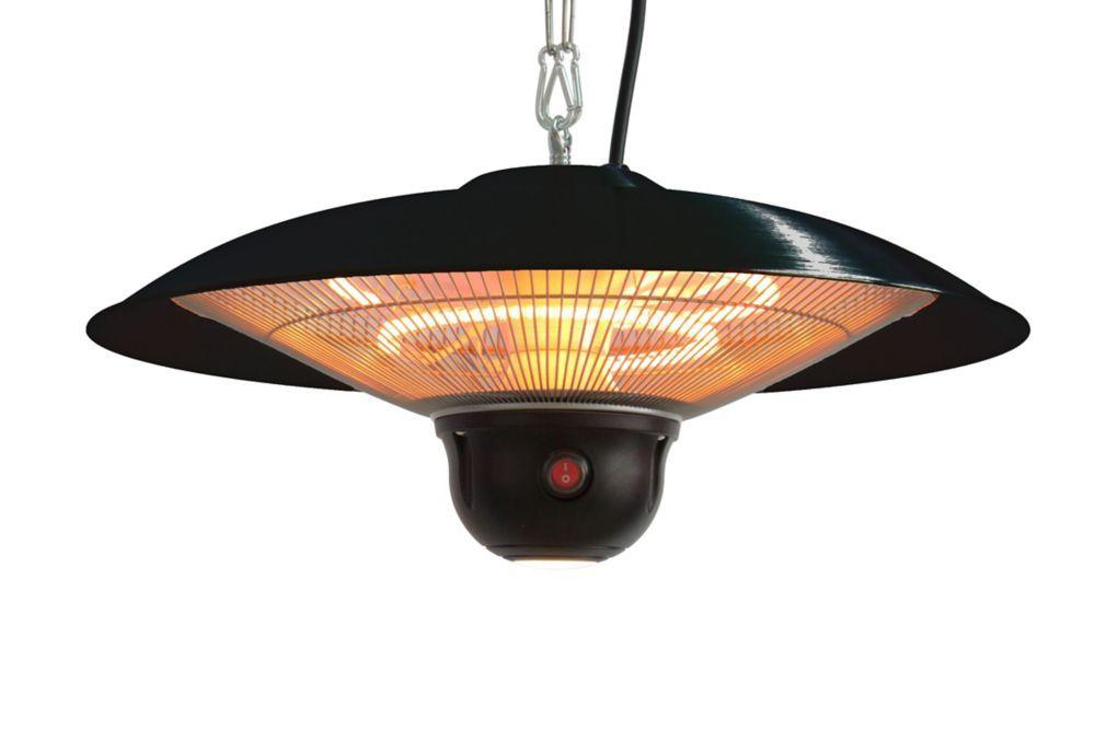 La Hacienda Hanging Halogen Heater Heat Lamp Outdoor Garden Heater 2100W
