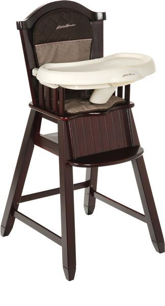 Eddie Bauer Wood High Chair Michelle Need To Check It Out Wood