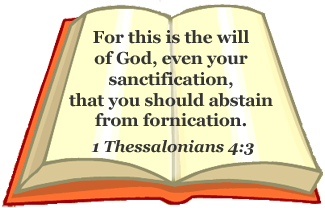 Bible verse on fornication
