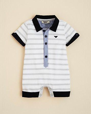 5beb7a576 Bloomingdale's. high fashion baby - armani junior. Newborn Boy ClothesUnisex  ...