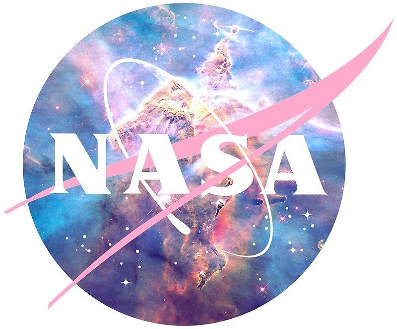 """Pastel Nebula Nasa Logo"" by JenJarrett Redbubble Nasa"