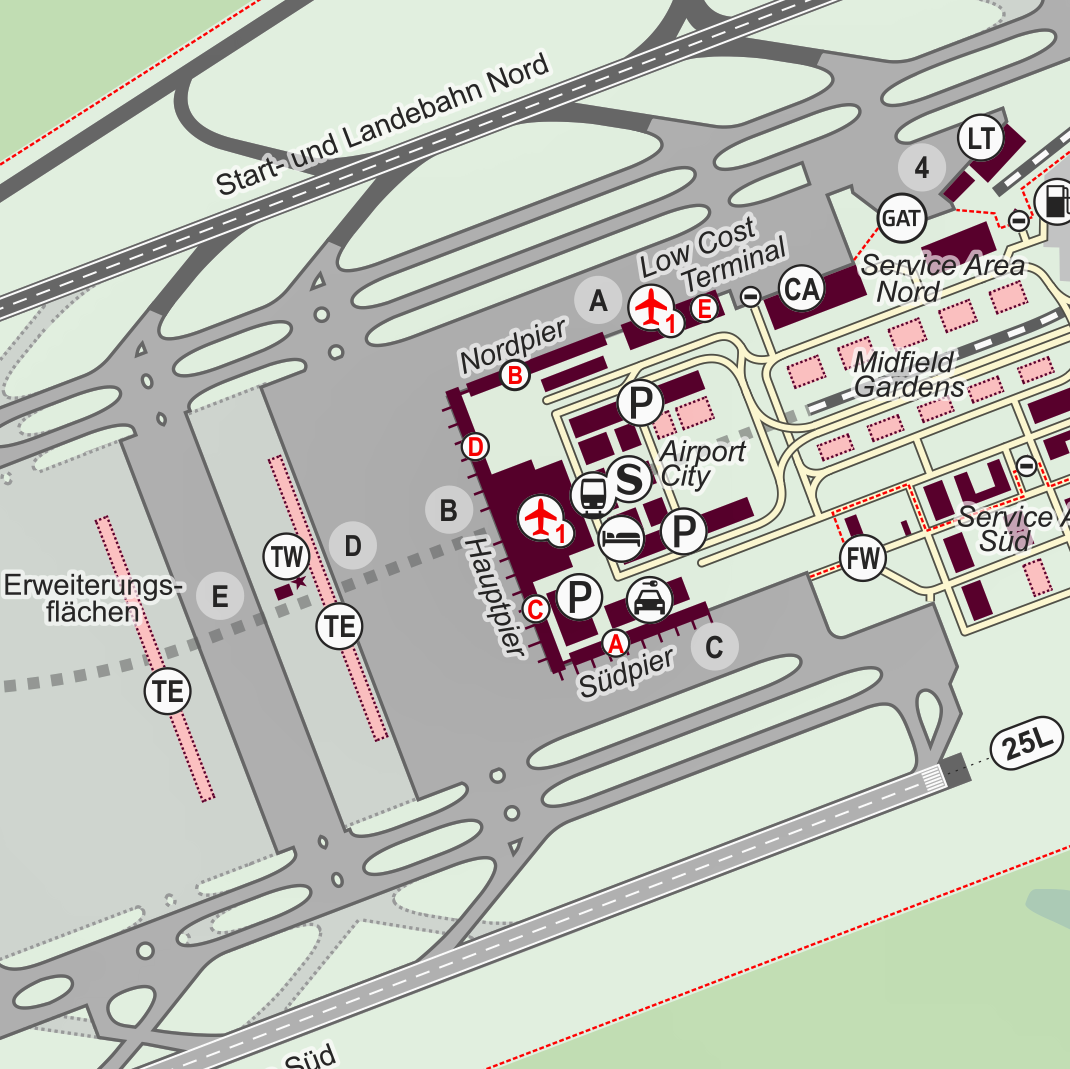 Flughafen Berlin Brandenburg Airport BER cc R. Aehnelt via ...
