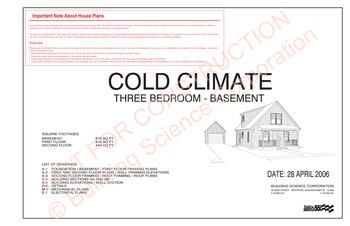 Pontiac mi house plan example building science for Cold climate house plans