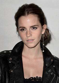 Beautiful Emma Watson .