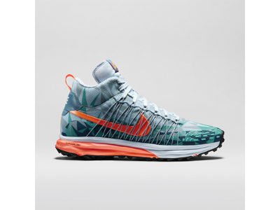 Nike LunarFresh SneakerBoot Men's SneakerBoot - Antarctica/Silver  Wing/Hyper Jade/Hyper Crimson