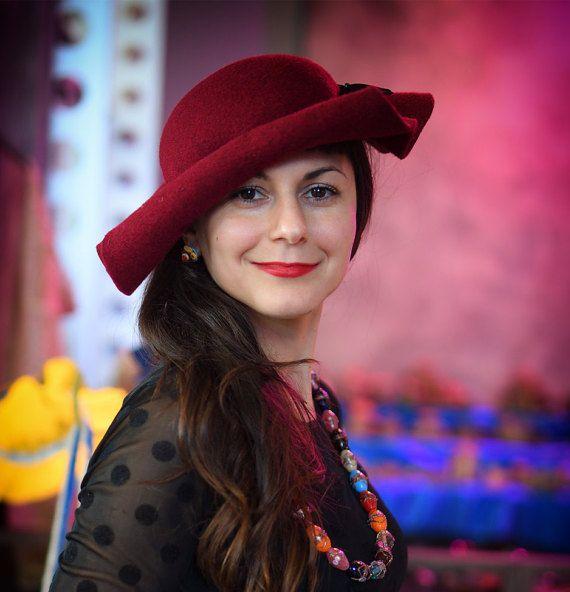 Hat wool hat by Elenutzca on Etsy