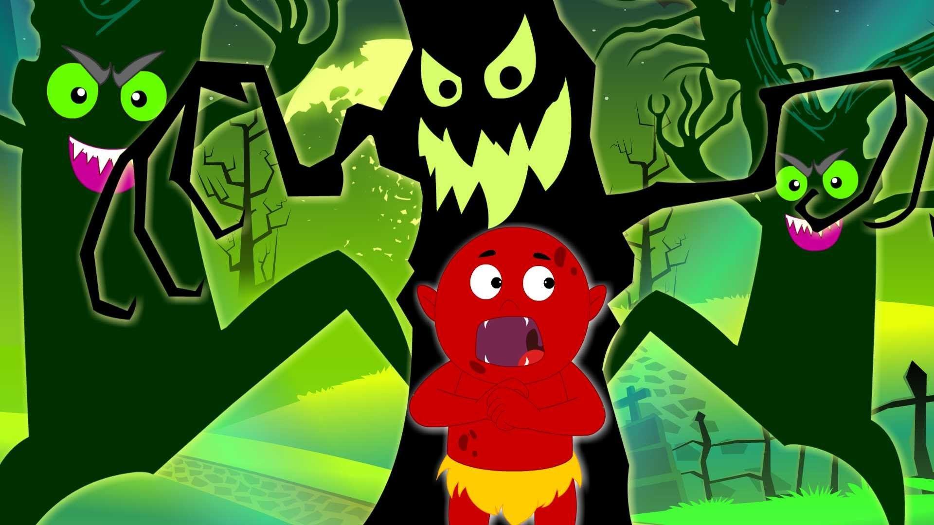 Scary Woods Original Songs For Kids Scary Nursery Rhymes