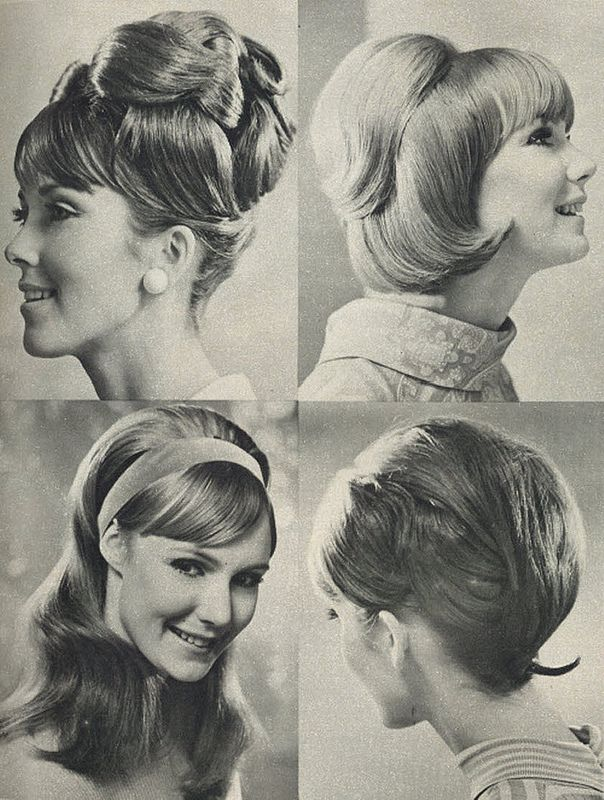 1960 S Hair Styles Summer Hair Woman S Day June 1967 1960s