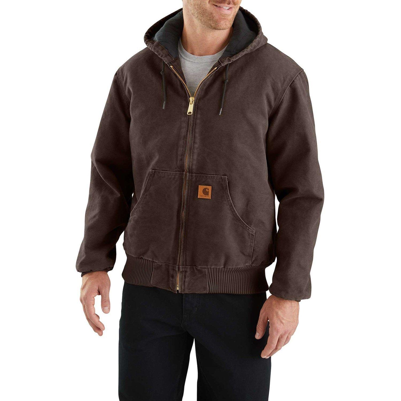 Carhartt J130 Sandstone Active Jacket Factory Seconds For Men Active Jacket Carhartt Shirts Carhartt Jacket [ 1500 x 1500 Pixel ]