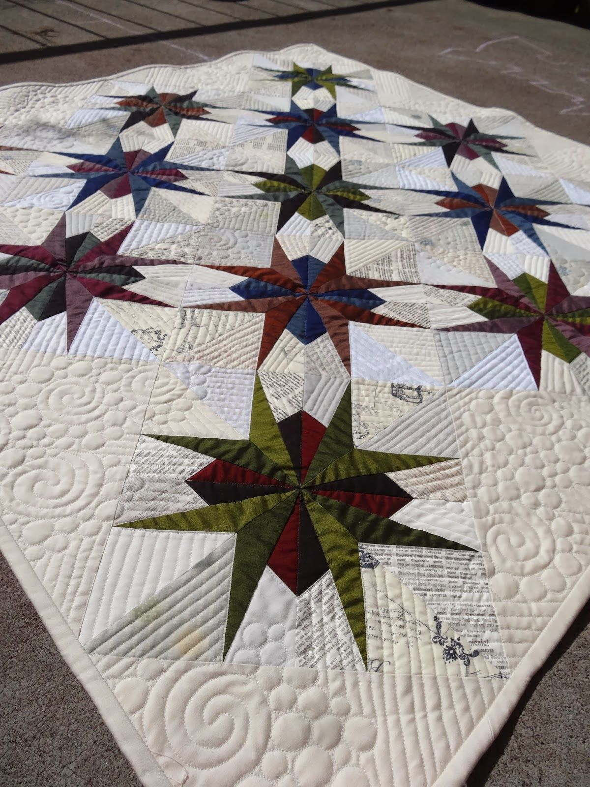 Lily\'s Quilts: Make with Oakshott St Louis Star tutorial by Jess ...