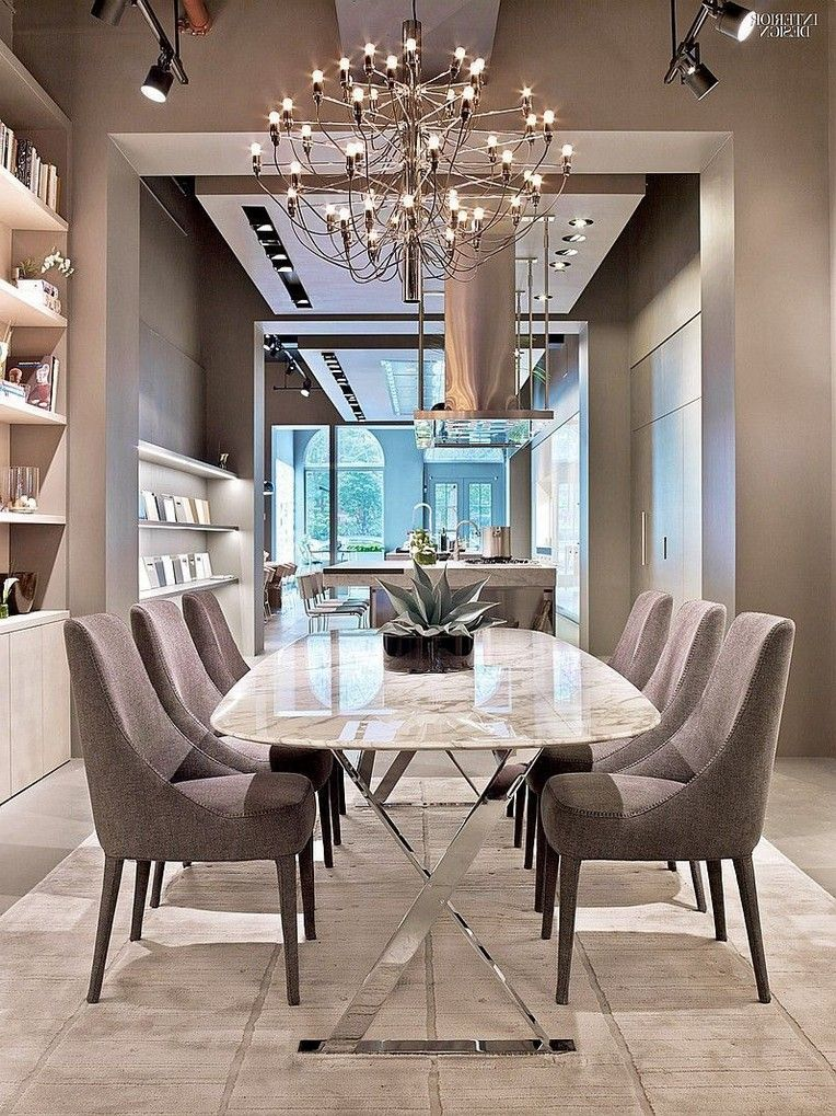 34 Comfortable And Modern Dining Tables You Need To See Right Now Dining Room Furniture Modern Luxury Dining Room Modern Dining Room Tables