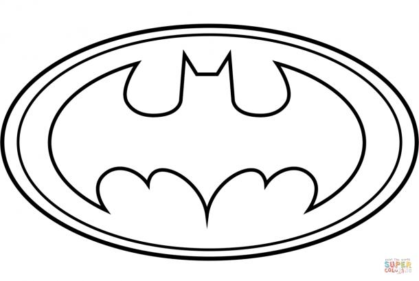 Batman Logo Coloring Pages Printables Batman Coloring Pages Printable Batman Logo Logo Outline
