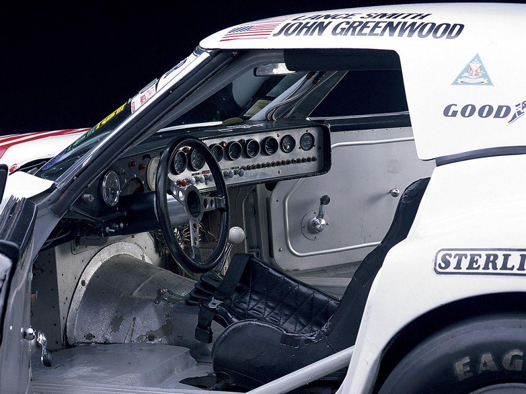 Interior Greenwood Corvette Imsa Road Racing Gt C3 1974