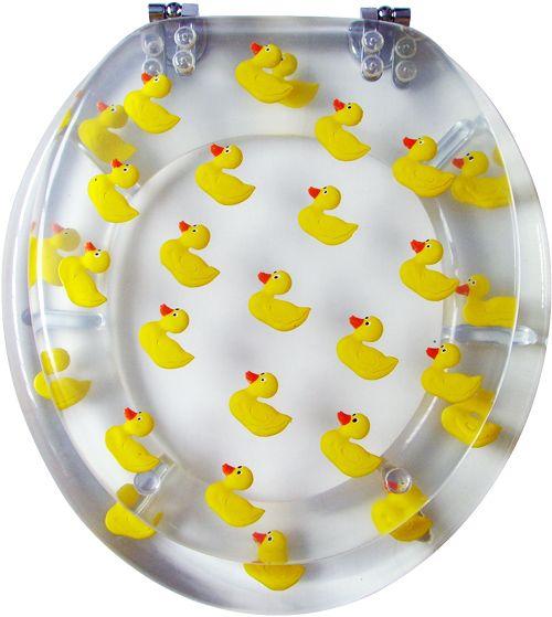 Rubber Duck Toilet Seat Rubber Duck Bathroom Rubber Ducky