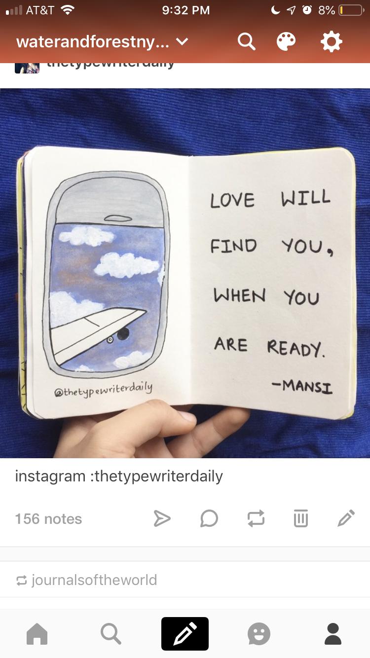 el amor te encontrara, cuando estes listo