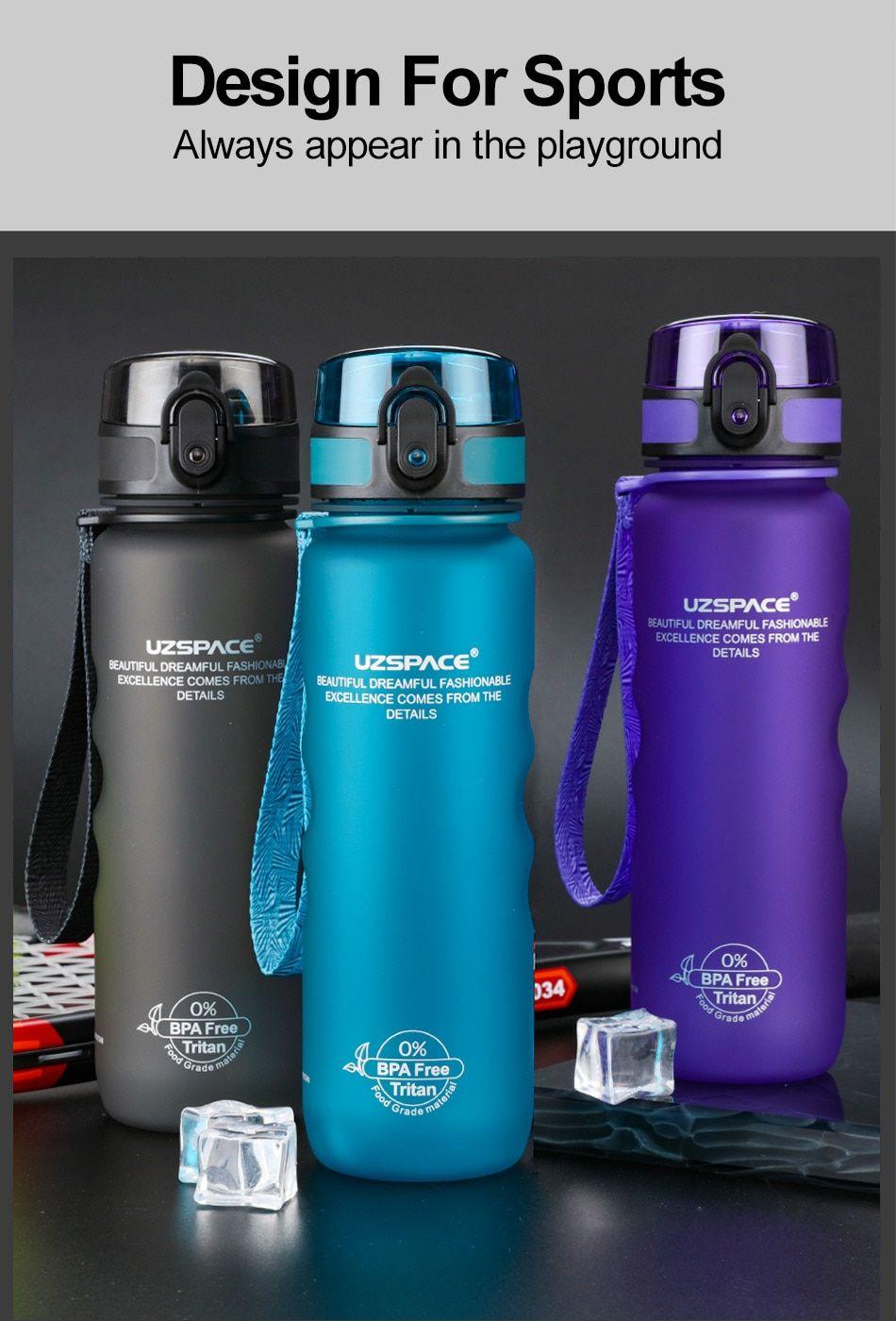 Sports Water Bottles Direct Drink&Straw 2 Style My Bottle