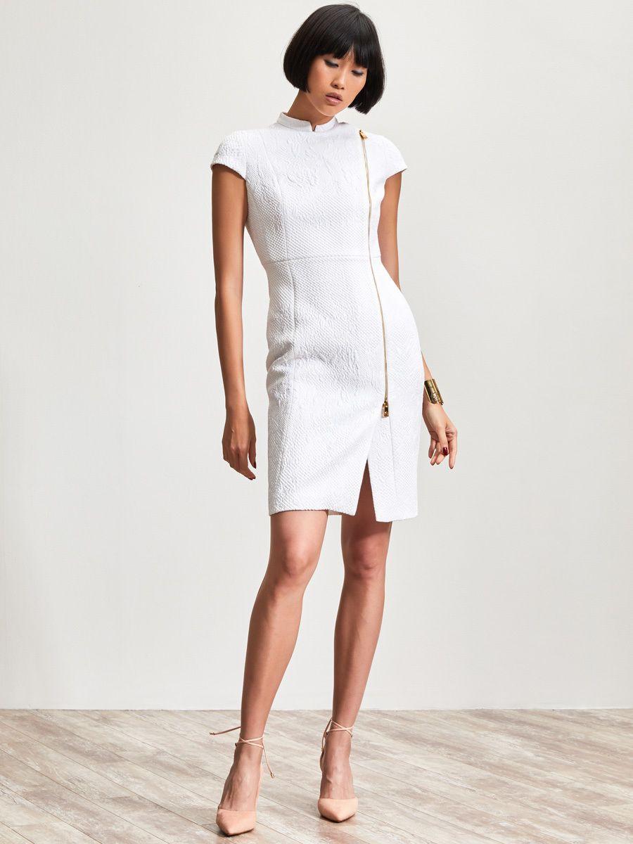 a58aee52c Shanghai Tang Quilted Jacquard Qipao Dress | Qipao | Dresses ...