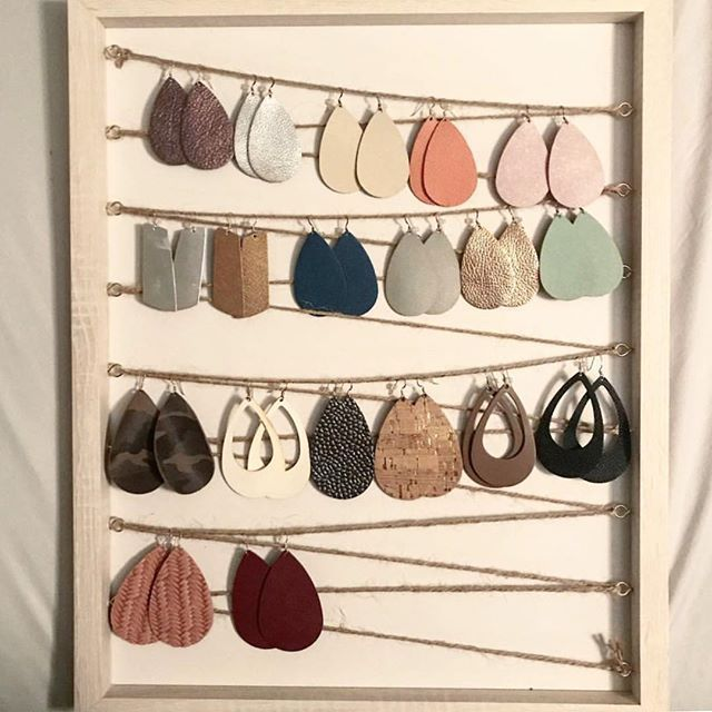 Photo of Light leather jewelry Shop online today at Nickel & Suede,  #amp #diyjewelryorganizer #Je…