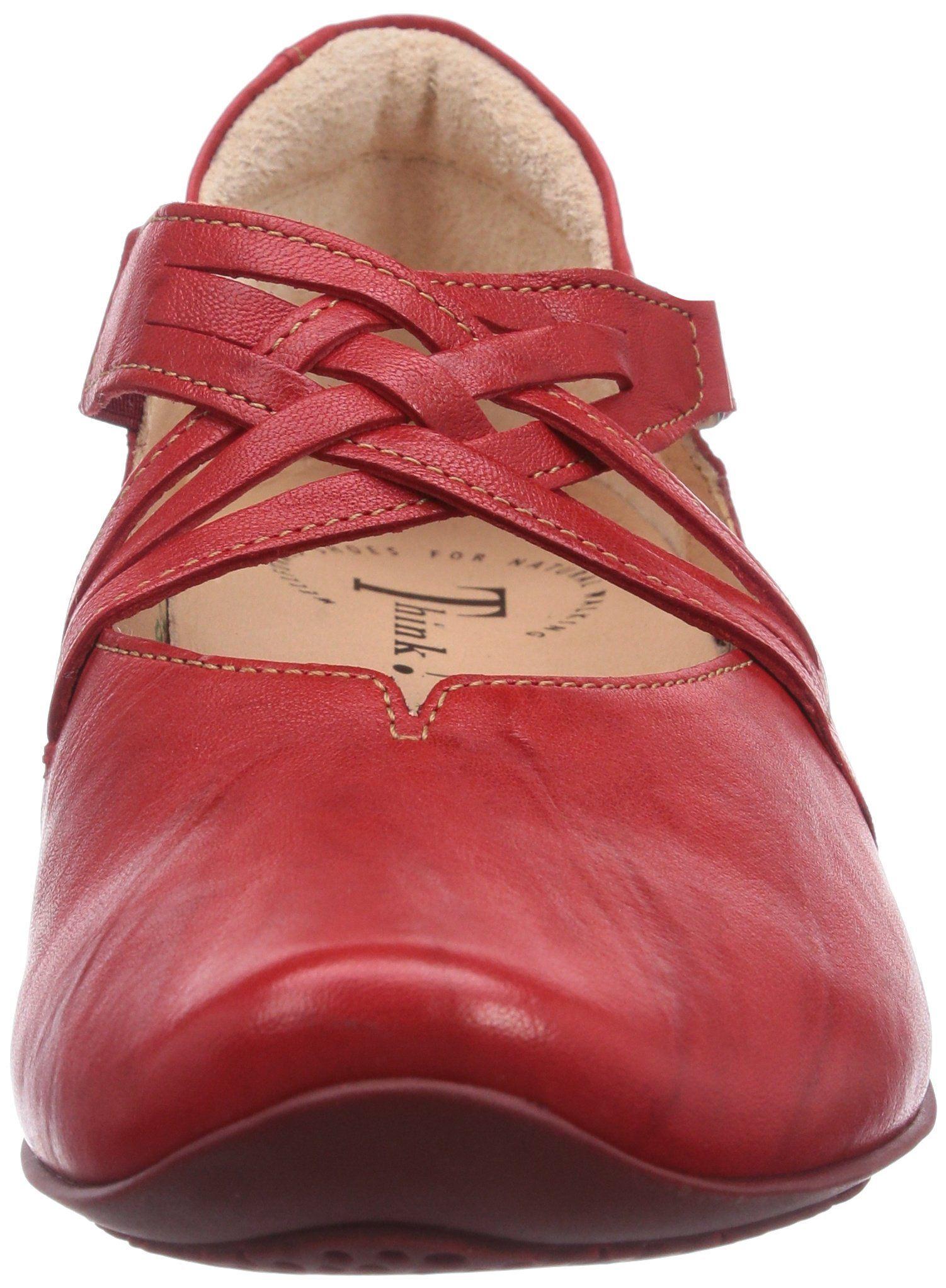 ca183f7eeb1d33 Think CHILLI Damen Knöchelriemchen Ballerinas  Amazon.de  Schuhe    Handtaschen