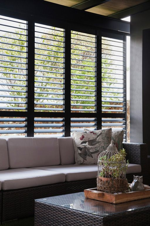 Security Shutters for exterior patio doors by The