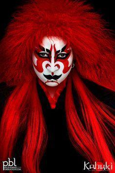 kabuki makeup male. kabuki - promo by pureblacklove on deviantart makeup male