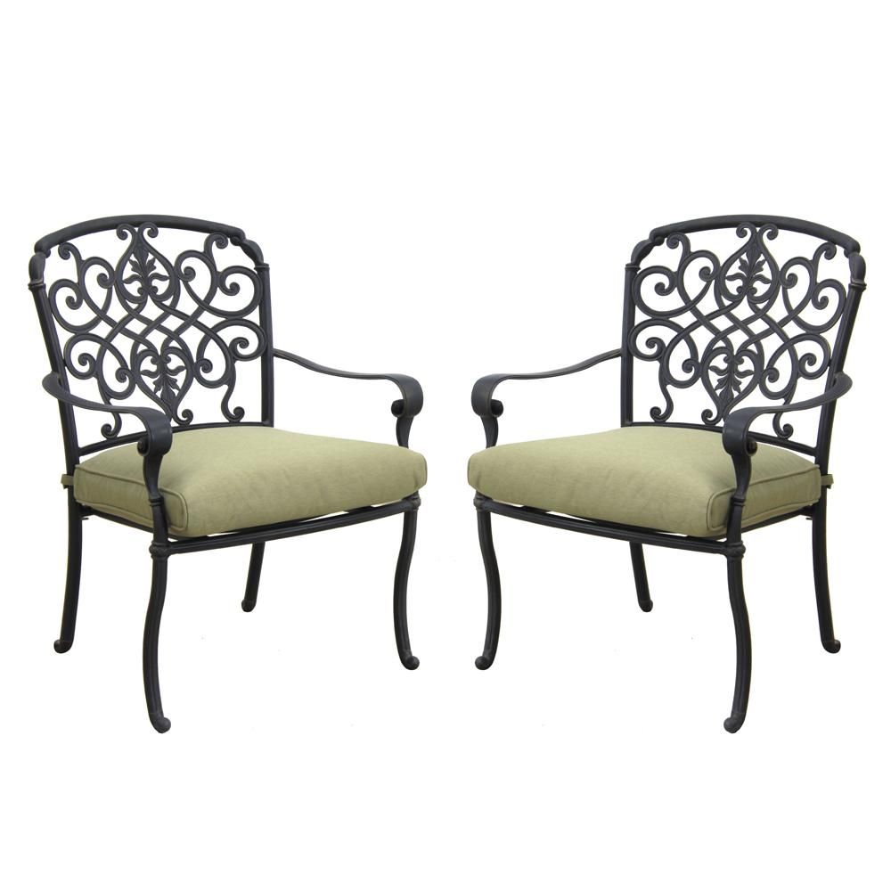 Outdoor Premier Polysteel Expanded Metal Patio Chair 939 D31