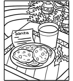 Printable Holiday Coloring Pages Santa Coloring Pages Coloring