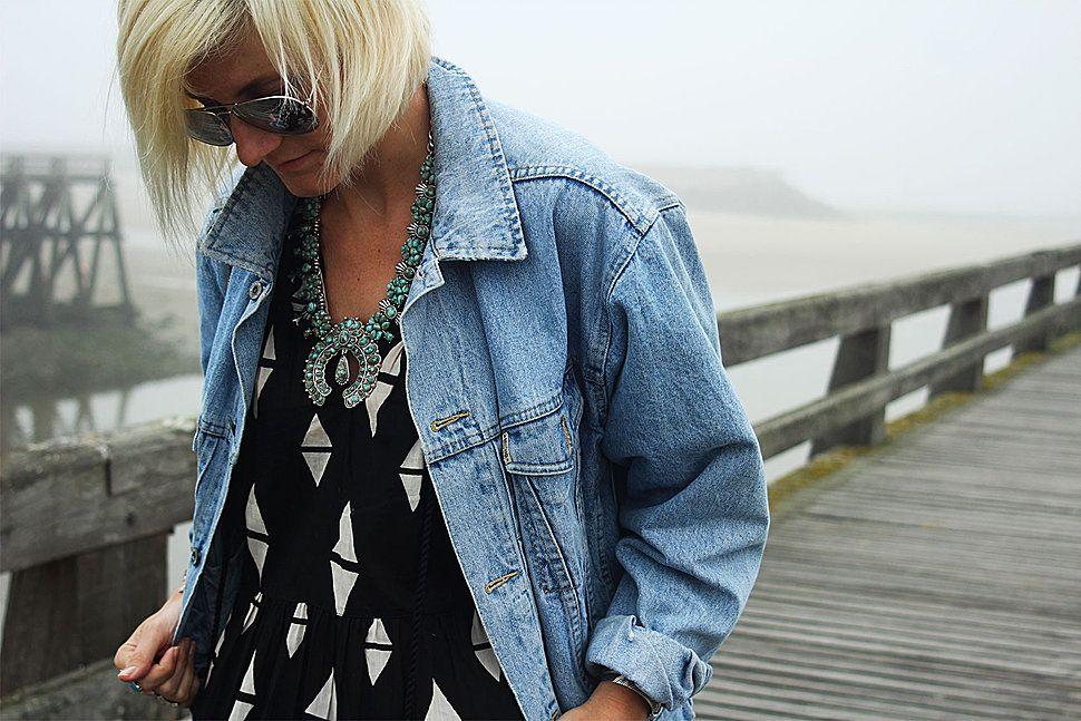 Little Boho - Blog mode femme, voyages et lifestyle #fashion #look #ootd #maxidress #denim #outfit #boho