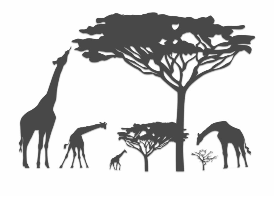 Giraffe Silhouette Safari Animals Silhouette Png Is A Free Transparent Png Image Search And Find More On V Giraffe Silhouette Animal Silhouette Safari Theme