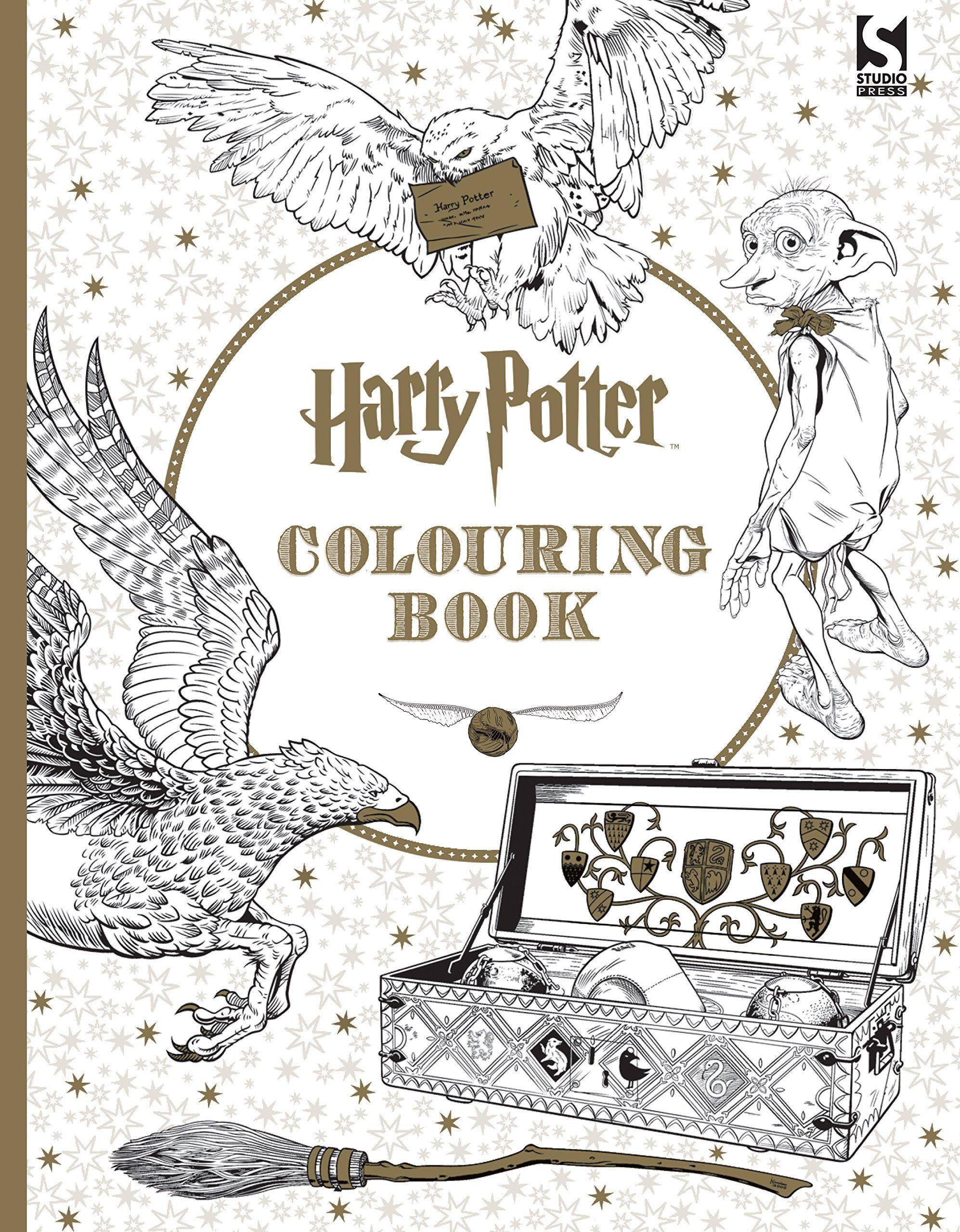 Malbuch für Erwachsene Harry Potter   Malbuch für Erwachsene ...