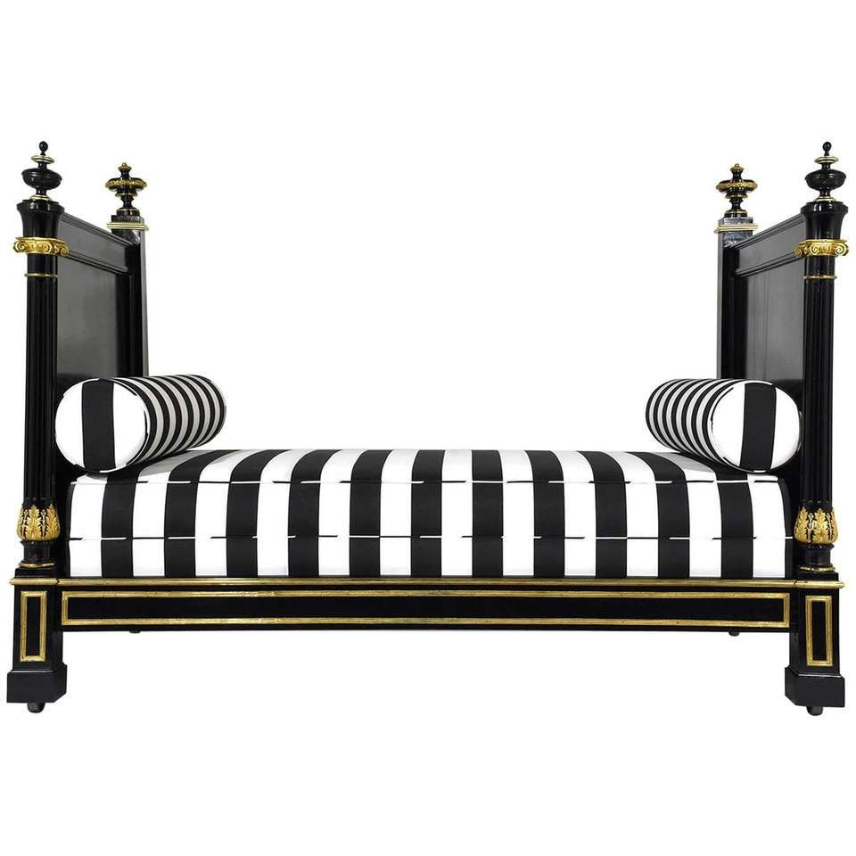 19th Century Empire Style Daybed 1 Deco Interieure Mobilier Deco