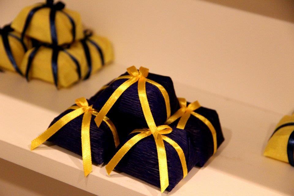 Azul E Amarelo Decoracoes Amarelas Bolos E Doces Ideias De