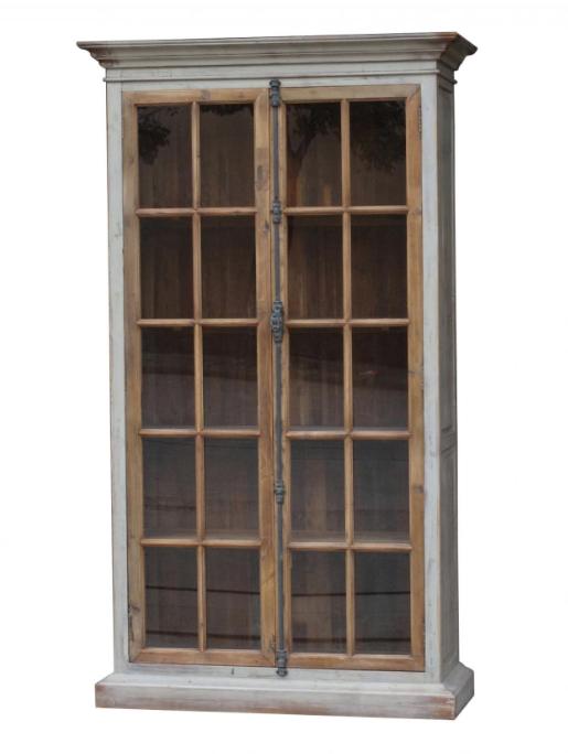 Monterey glass door cabinet muebles muebles reciclados for Restauracion de puertas antiguas