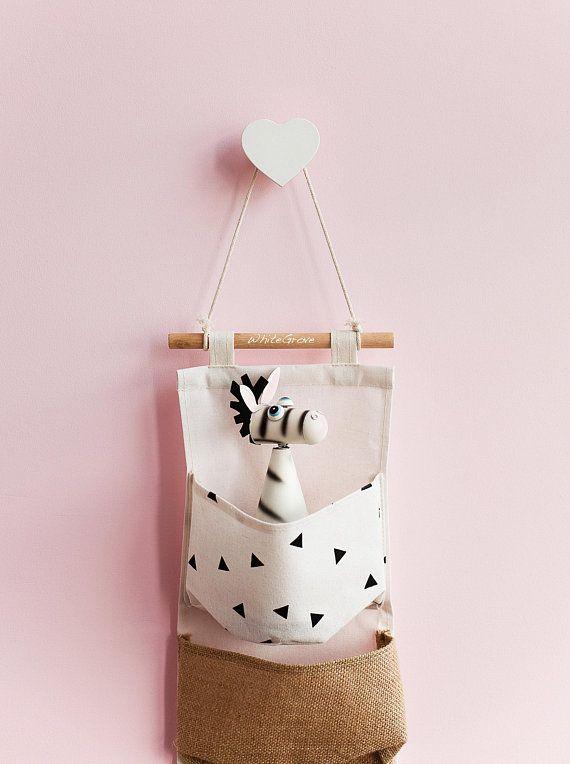Heart Wall Hooks Nursery Kids Hook Hanger Poster Coat Towel For