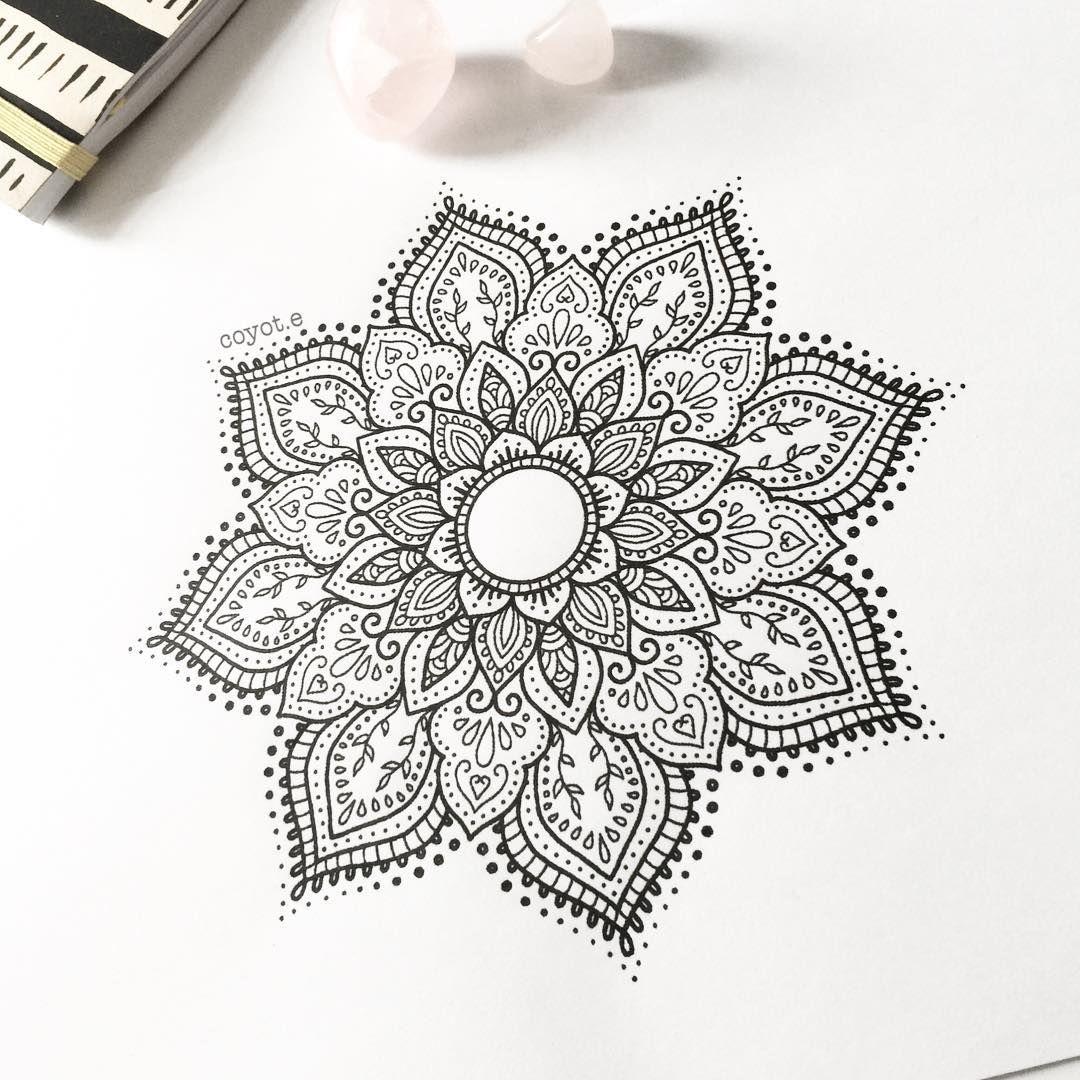 Mandala Henna Designs: Tattoo Designer (@coyot.e) On