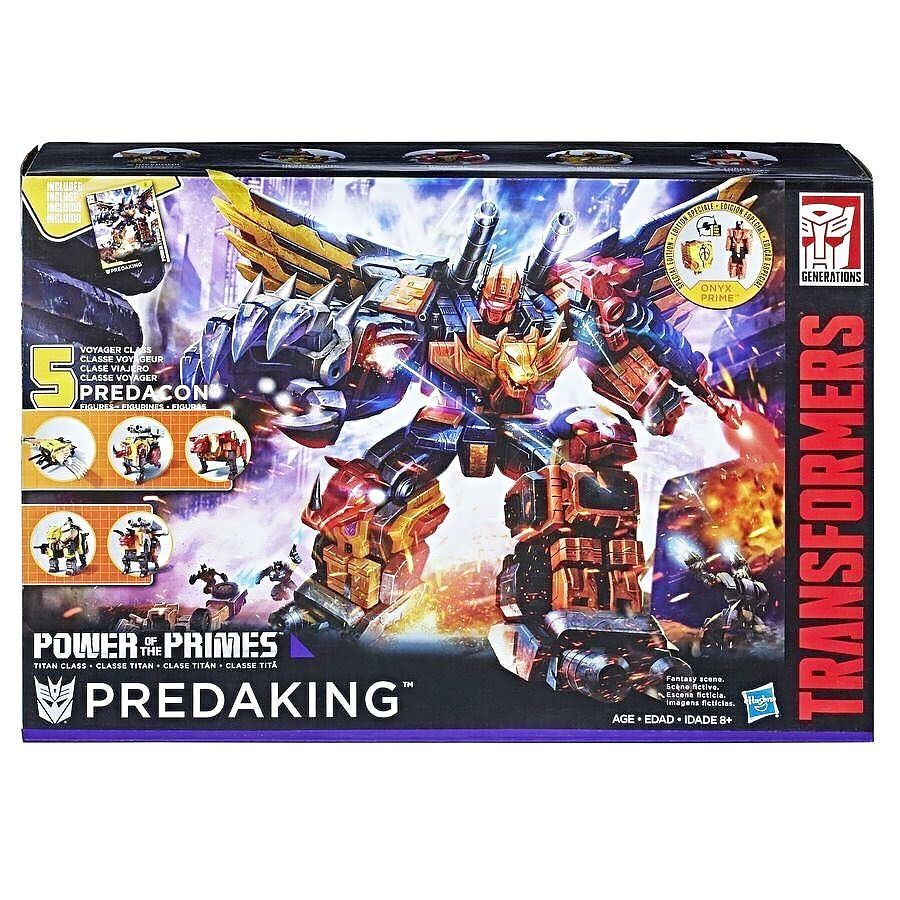 Hasbro Transformers Power of The Primes POTP Titan Predacon Predaking No Box