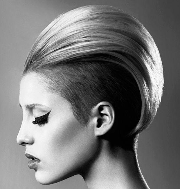 Tagli di capelli femminili rasati