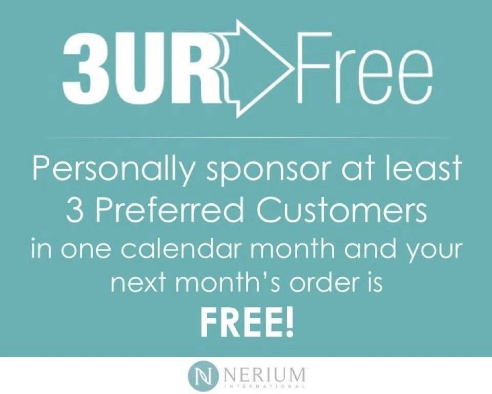 Would you like your Skin Care product for FREE?