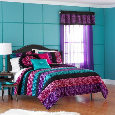 Seventeen Traci Dot Comforter Set And Accessories Jcpenney
