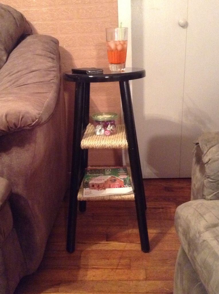Needed A Small End Table. Going To Do Another One To Make A Small Night