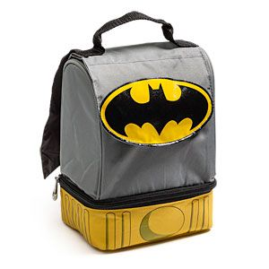 Thinkgeek Batman Lunch Bag With Cape My Son Would Love This When He Starts Kindergarten In August