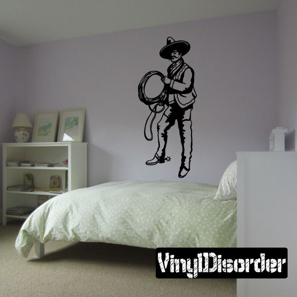 Mexican Rodeo Wall Decal - Vinyl Decal - Car Decal - CD001