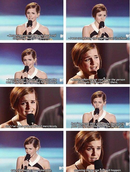 Emma Watson, so inspiring