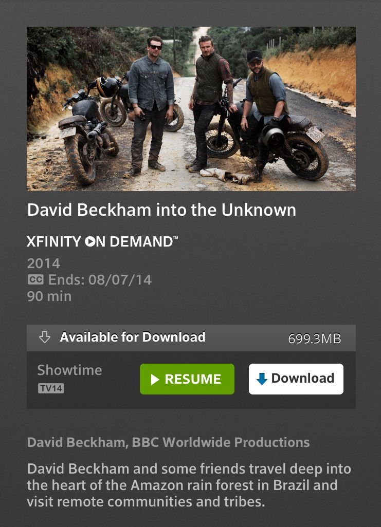 David Beckham Documentary Into The Unknown