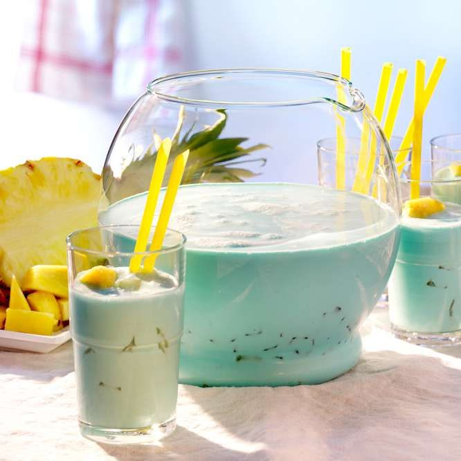 Ananas-Kokos-Bowle #kokteyltarifleri